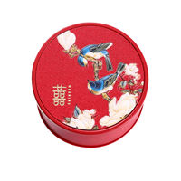 Chinese wedding candy box wedding candy box creative wedding with hand gift box finished wedding candy box tin box