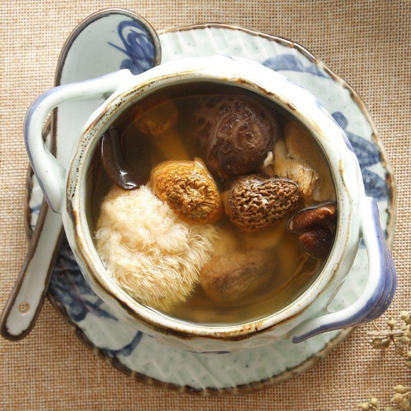 羊肚菌鲍鱼菇杂菌靓汤 全家有好脾胃好体质 广东煲汤料滋补汤料包