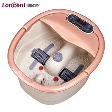 朗欣特8818足浴盆加热洗脚电动按摩滚轮全自动泡脚盆恒温足疗器