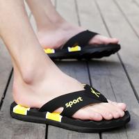 夏季人字拖男士夹脚沙滩拖鞋韩版大码沙滩鞋夹脚拖防滑凉拖鞋男子