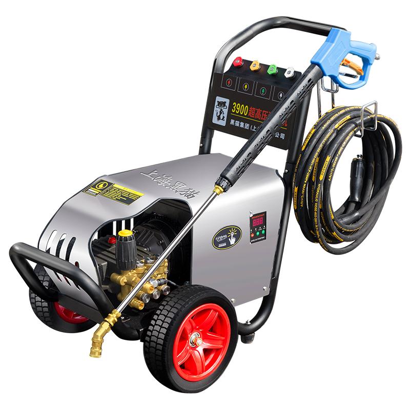 上海黑猫220v380v超高压商用清洗机洗车场专用超高压洗车机洗车泵