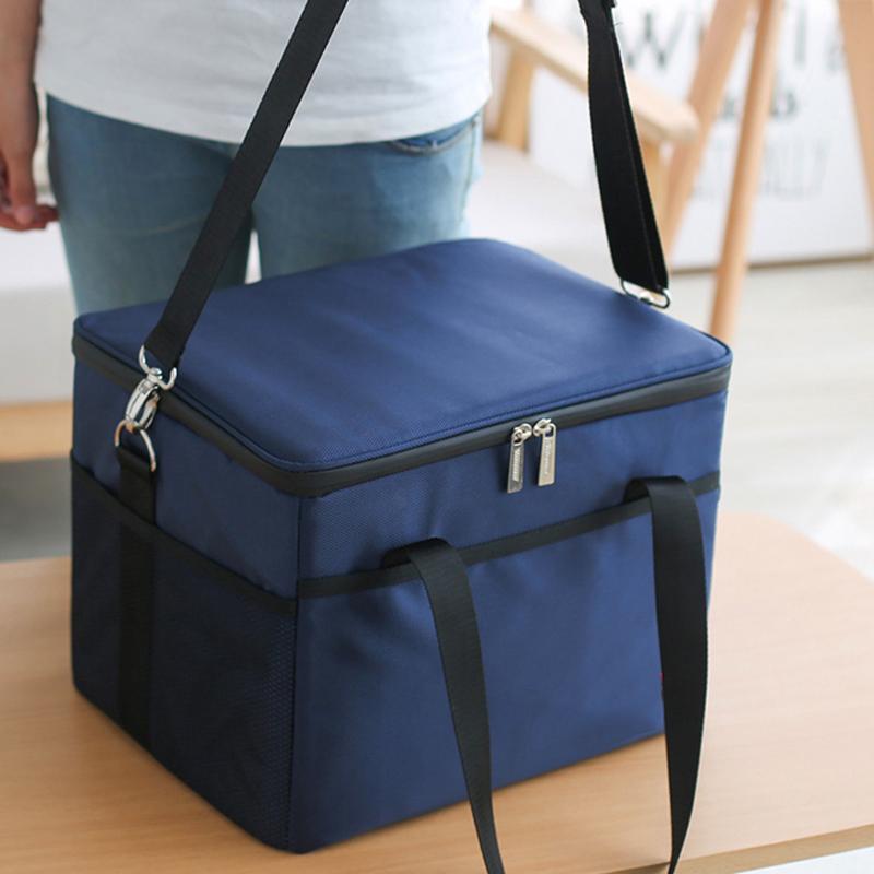 便当包加厚大号保温袋外卖户外带饭保冷冰包手提饭盒箱铝箔保温包