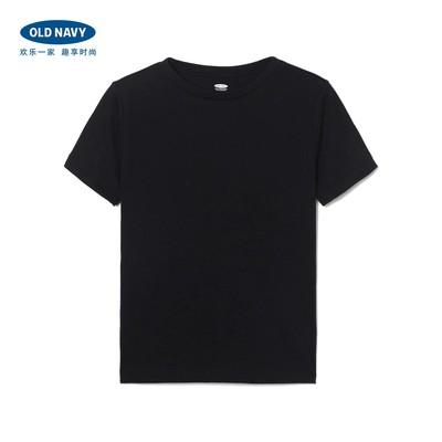 Old Navy男童 纯色棉质柔软基本款短袖T恤 童装休闲上衣898709B
