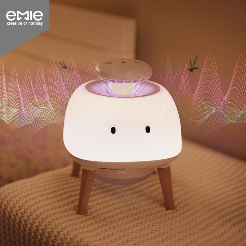 灭蚊灯家用 室内卧室智能光控 静音插电吸入式捕驱蚊灭蚊神器