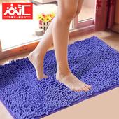 雪尼尔地垫浴室防滑吸水门垫进门门口厨房卧室卫生间脚垫垫子地毯