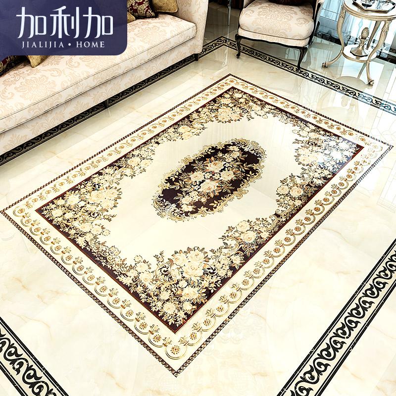 地毯花瓷砖