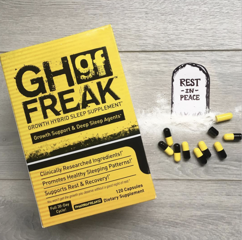 美国Pharmafreak GH 2.0夜间猛兽增肌助眠深度刺激肌肉瓶颈期