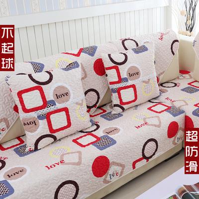 简约现代客厅真皮实木沙发垫布艺全棉防滑四季通用纯棉沙发套罩巾专卖店