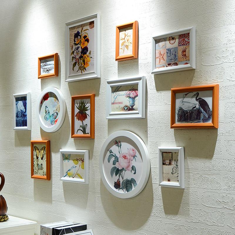 欧式客厅照片墙装饰 相框墙 创意卧室简约现代挂墙相框组合相片墙3元优惠券