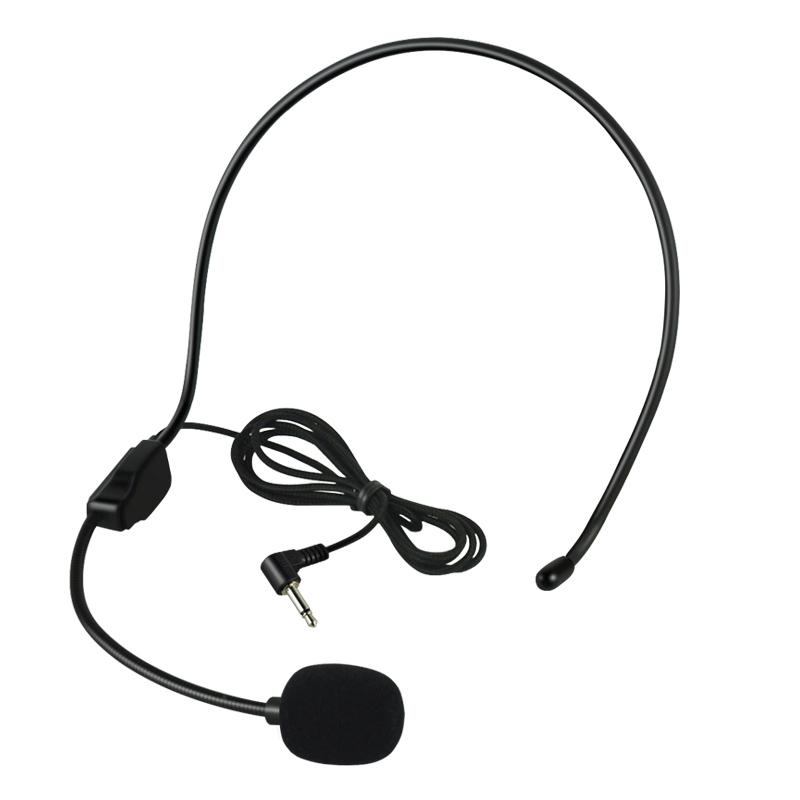小蜜蜂扩音器耳麦话筒头戴式教师用有线麦克风话筒导游 M1 品度