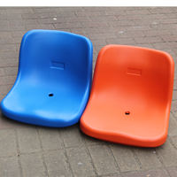 Stadium stand chair, hollow blow molding chair, plastic seat, outdoor outdoor playground seat, row chair seat