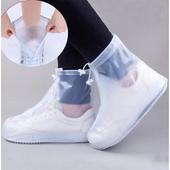 底防水鞋 套防滑防雨加厚耐磨鞋 拉链处带防水层 套雨鞋 防雨鞋