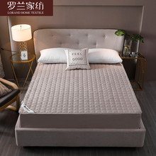 Roland home textile anti-bacterial and anti-mite cotton bed hat 1.8m bed pure cotton bed hat 1.5m mattress protective cover bed cover