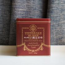 斯里兰卡原装进口锡兰红茶Mlesn电影ICTORIANBLENDOP400g红色