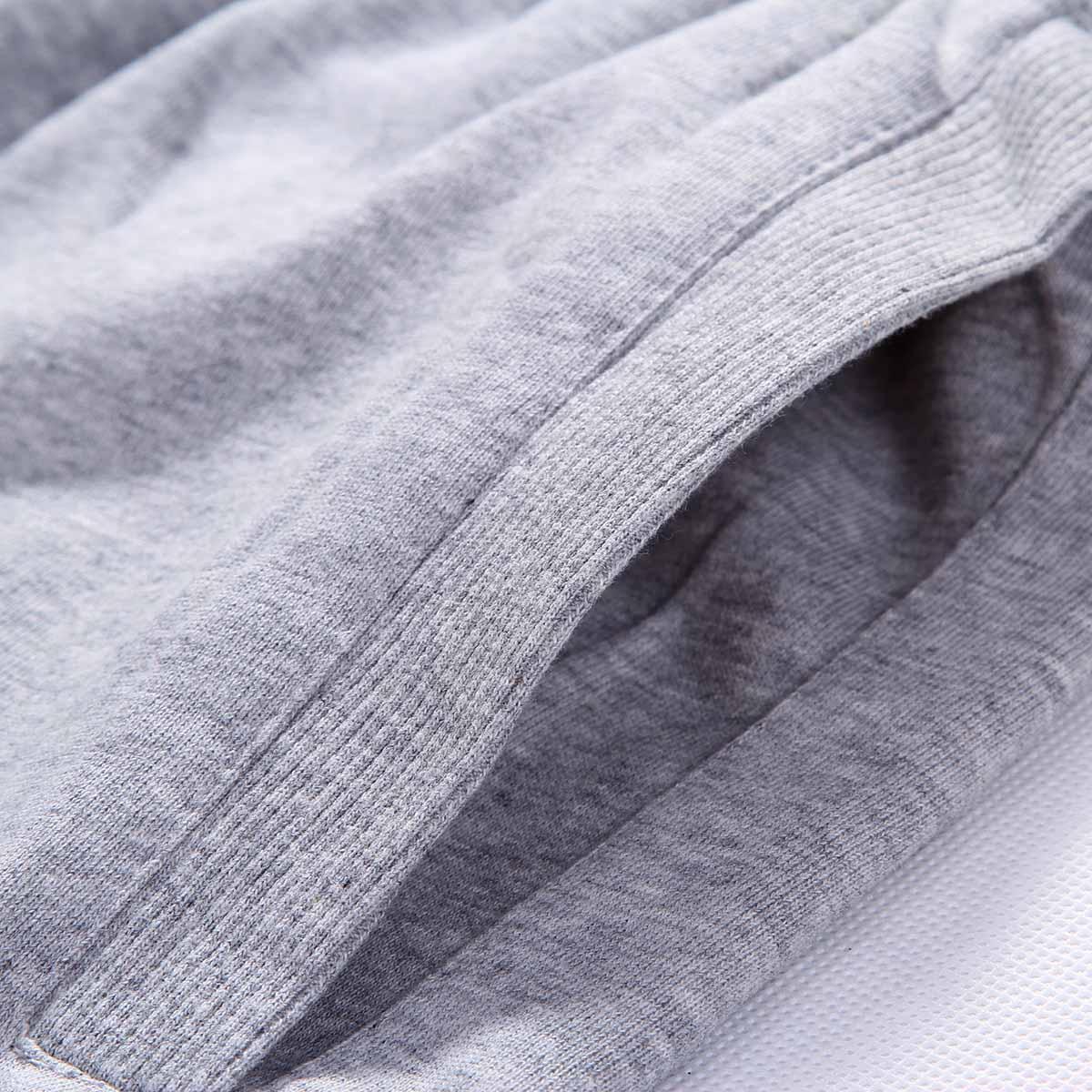 秋冬运动裤男长裤加绒加厚收口跑步训练裤子宽松大码针织休闲卫裤