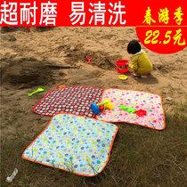 帐篷垫加厚公园草坪沙滩户外野营垫防潮防水牛津布野餐垫