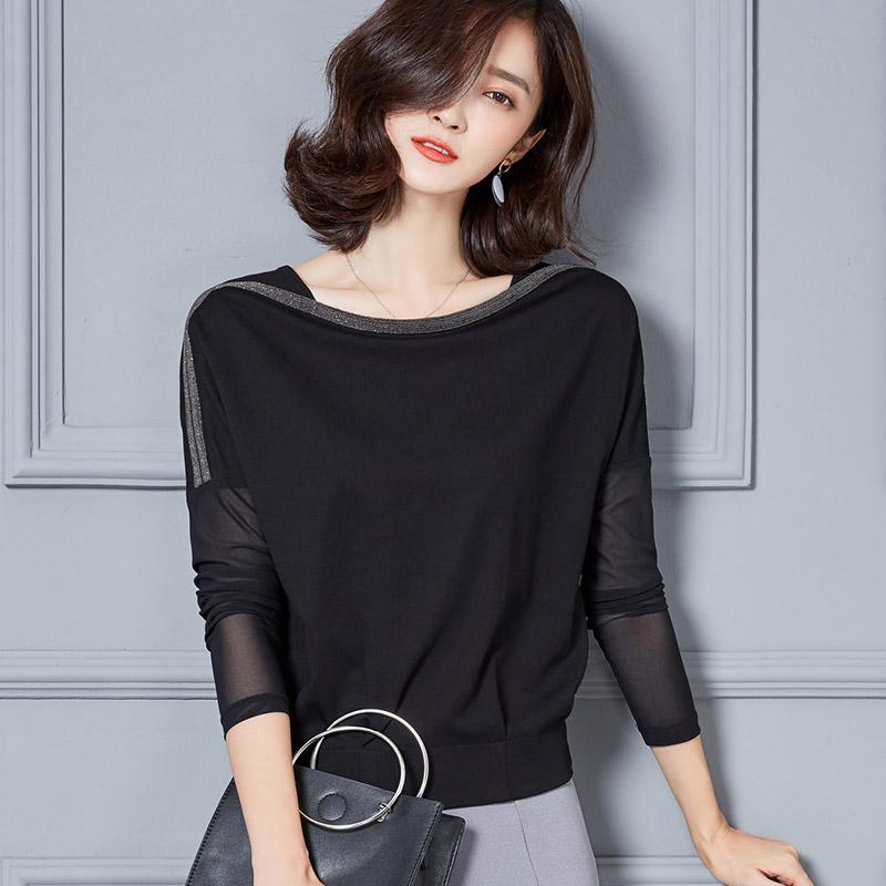 韩版小衫蝙蝠衫
