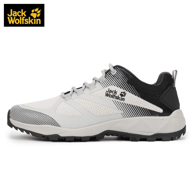狼爪登山鞋男鞋2020春季新款户外鞋跑步运动鞋耐磨徒步鞋4038861