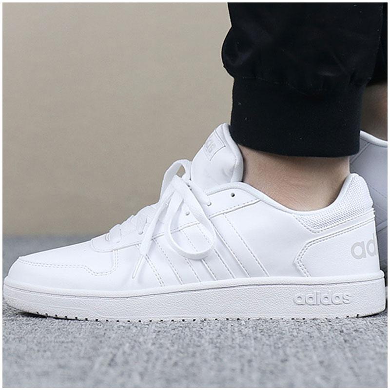 Adidas阿迪达斯男鞋2018秋季新款低帮鞋子小白鞋运动鞋板鞋休闲鞋