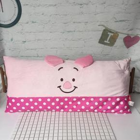 包邮 孤品 敲好看 Dxx 小熊维尼 小猪皮杰 双人枕头 靠垫