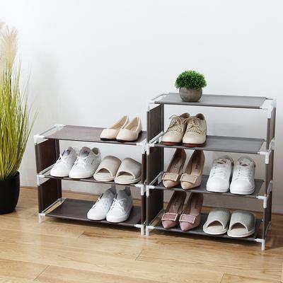 优思居 简易多层鞋架 布艺鞋子收纳架家用多功能省空间小鞋架鞋柜