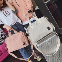 行李包短途旅游包女简约手提包出差韩版旅行袋新款旅行包男大容量
