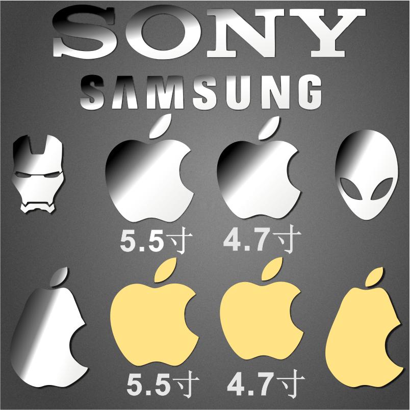 苹果手机logo贴纸