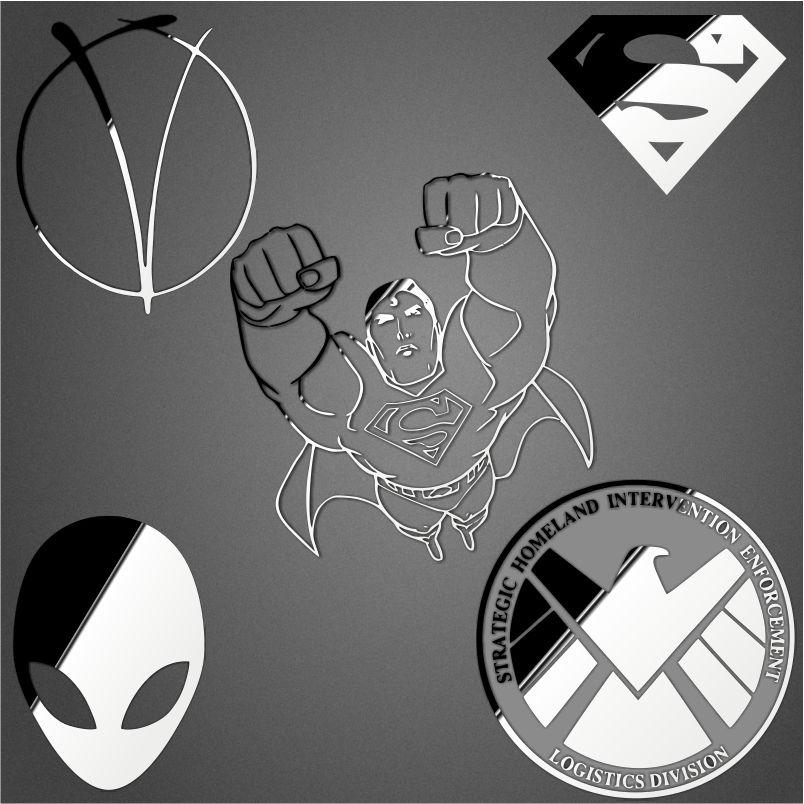金属贴纸 logo