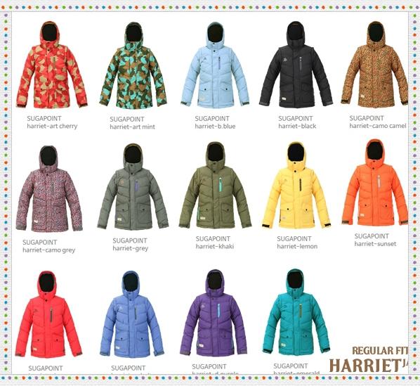 sugapoint韩国滑雪服裤男女款单双板滑雪衣外套装保暖冲锋衣裤1