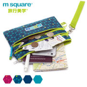 Msquare small debris storage bag portable multifunction mobile phone bag mini change card passport ticket waterproof