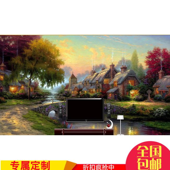 风景乡村墙壁纸
