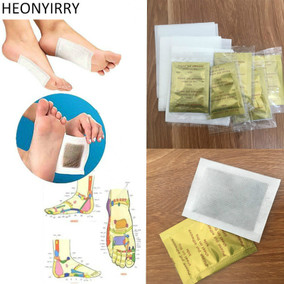 20 Pcs Herbal Detox GOLD Foot Pads Patches Feet Care Medical