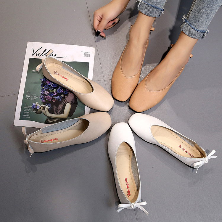 方跟低跟鞋平底鞋