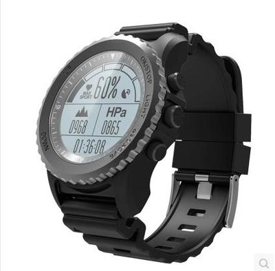 户外跑步骑行游泳浮潜运动手表GPS配速登山气压温度心率智能军表在哪买