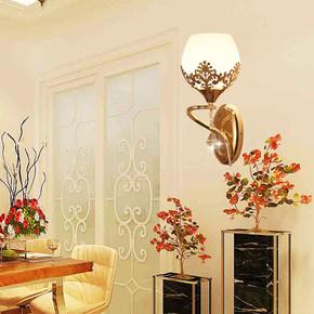 宾馆阳台灯浴室led美容院仿古浪漫欧式女孩温馨家庭餐厅室内壁灯