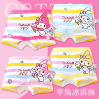 Cotton children's underwear girls cotton boxer children baby girl triangle triangle shorts 1-3-7-9-12 years old