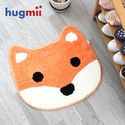 Hugmii floor mats mats cute cartoon children's bedside round round carpet soft cushion