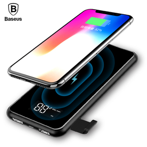 Baseus 8000mAh QI Wireless Charger Power Bank 支架无线充电宝