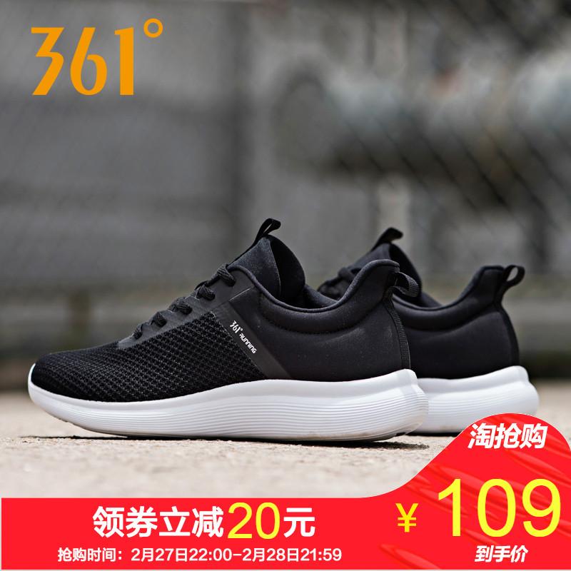361运动鞋男鞋2019春季新款跑鞋网面透气休闲鞋子旗舰店跑步鞋男