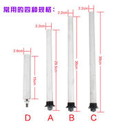 Haier unified handsome electric water heater original magnesium rod descaling sewage mouth sacrificial anode rod original accessories universal