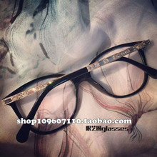 2019 Ms. Liu Yuyi, Star of the same 3304 temperament, Drilling Glasses, Optical Accessories, Myopic Eye Frame Frame