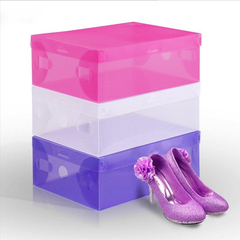 通用简易加厚款男士女鞋鞋子鞋盒女鞋子经济型整理防尘简约鞋盒子
