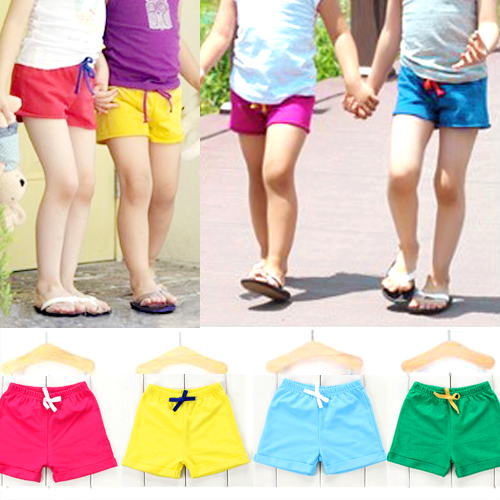 2018 summer wear trousers leisure boy girl shorts baby shorts men  women tide kz0868