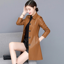 Haining Spring and Autumn New Genuine Leather Clothes in 2018