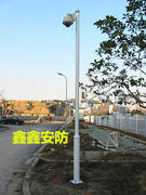 Community monitoring pole 1/2.5/3/3.5/4/4.5/5/6 meters stainless steel pole camera column / bracket