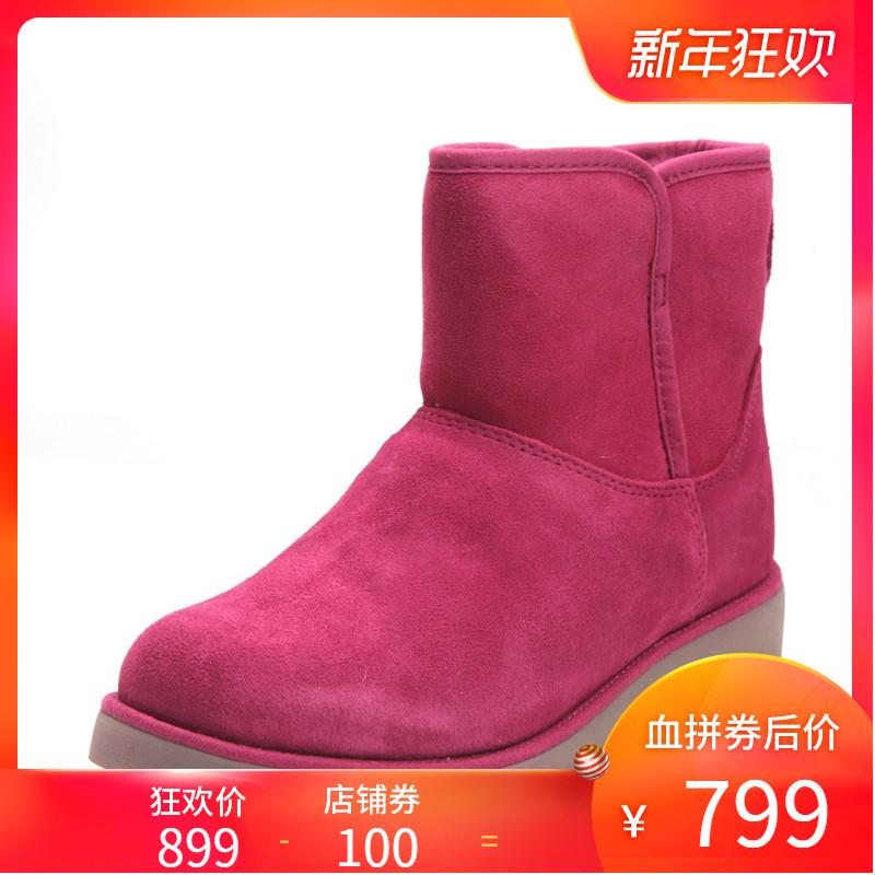 【清仓】UGG新款时尚潮流女士靴子 秋冬保暖经典雪地靴1012497