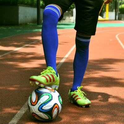 成人儿童足球袜男过膝长筒袜防滑训练长袜加厚透气毛巾底表演袜子