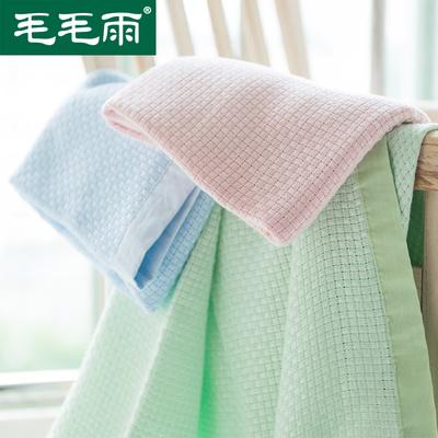 毛毛雨竹 浆 纤维毛巾被卡通小毯子冰丝盖毯午睡毯毛巾毯