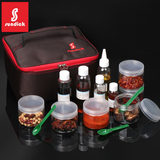 Outdoor picnic grill portable cruet seasoning canning sub-bottles oil bottles multi-flavored treasure storage bag