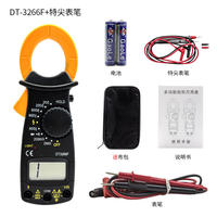 Clamp-shaped ammeter DT3266L clamp type multimeter VC3266L+ digital display clamp strap buzzer fire resistance